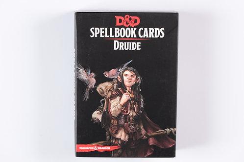 Cartes de sort - Druide [FR]
