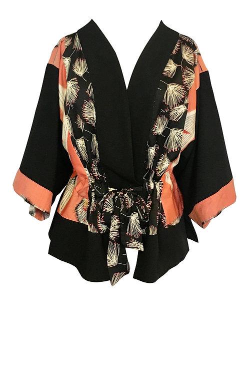 Black Thistle Kimono