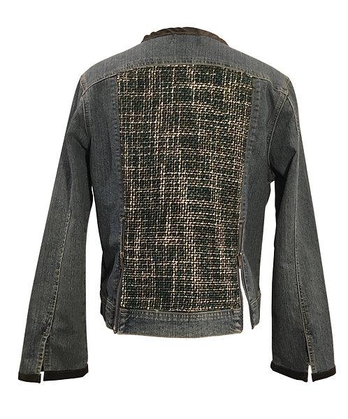 Sueded Tweed Jacket