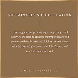 Sustainable Sophistication