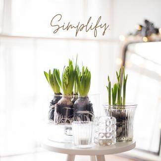 Simplify. A social media post by J.MullinApparel.