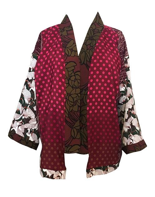 Sparkling Rose' Kimono