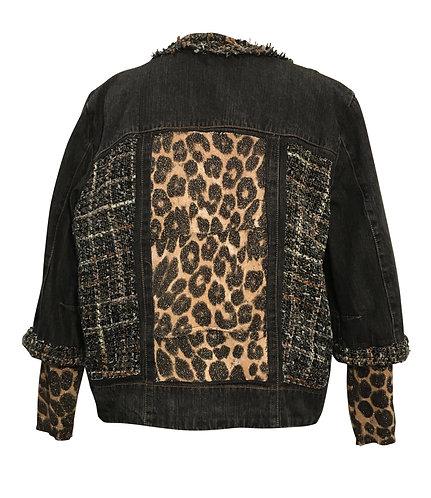 Animal Instincts Zip Front Jacket