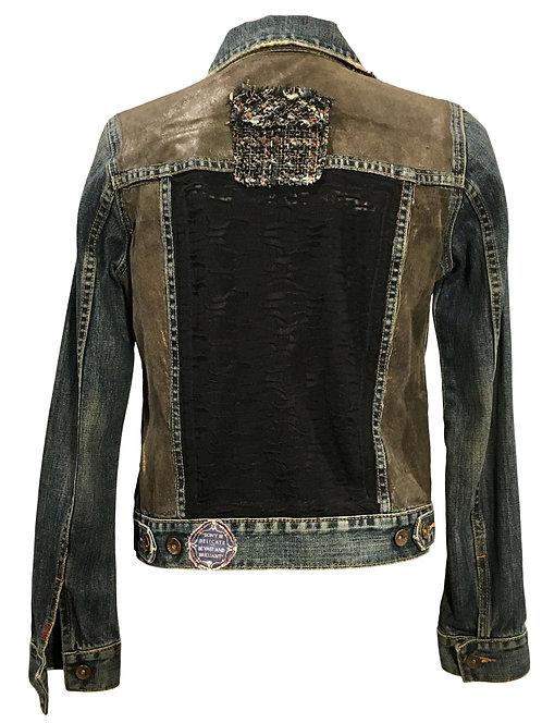 Bronze Nubuck & Tweed Jacket