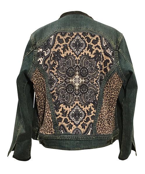 Cheetah Medallion Jacket