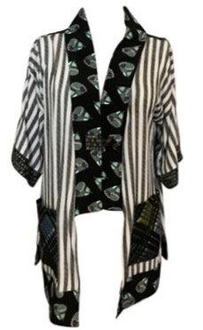 Green Plaid Kimono