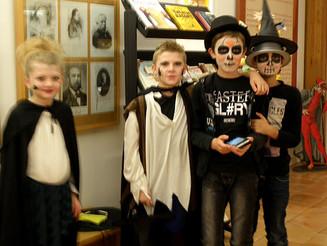 """Succès de l'atelier maquillage """"Halloween"""""""