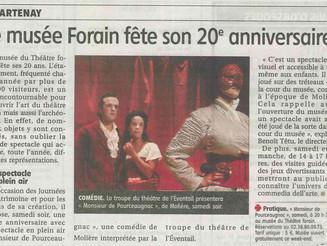 Le Musée du Théâtre Forain fête son 20e anniversaire