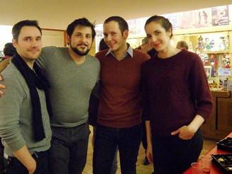 """Rencontre avec les comédiens de la pièce """"Room Service"""""""
