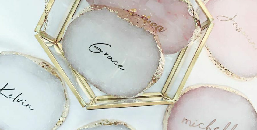 Crystal Coaster | Pink | GL423B
