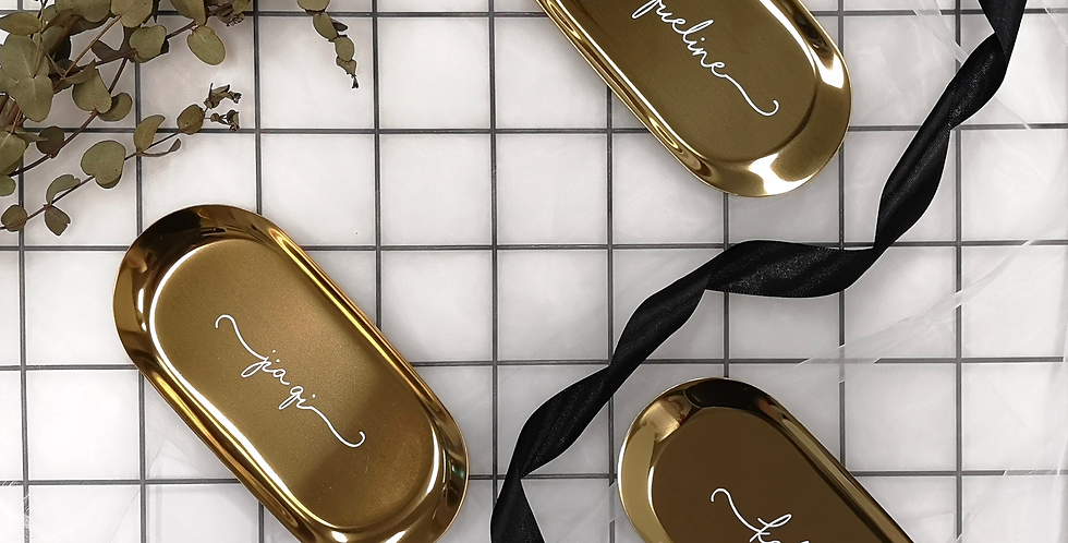 Trinket Tray | Gold | GL410A