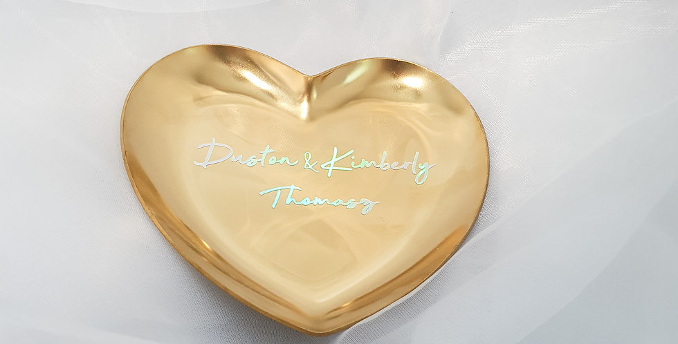 Heart Tray | Gold | GL409A