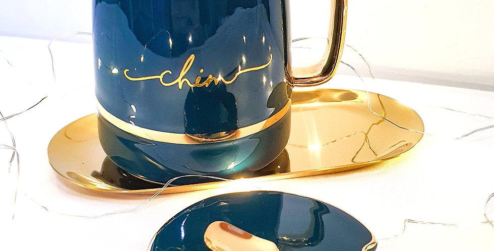 Eternity Gift Set - Emerald Mug & Trinket Tray