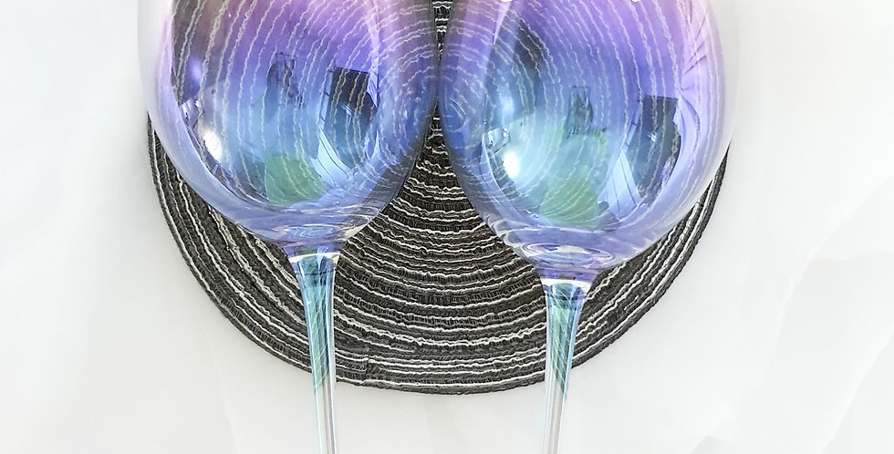 Iridescent Wine Glass | GL430