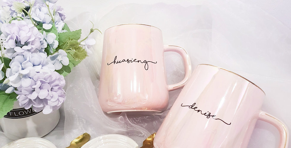 Seashell Mug | Pink | GL421A