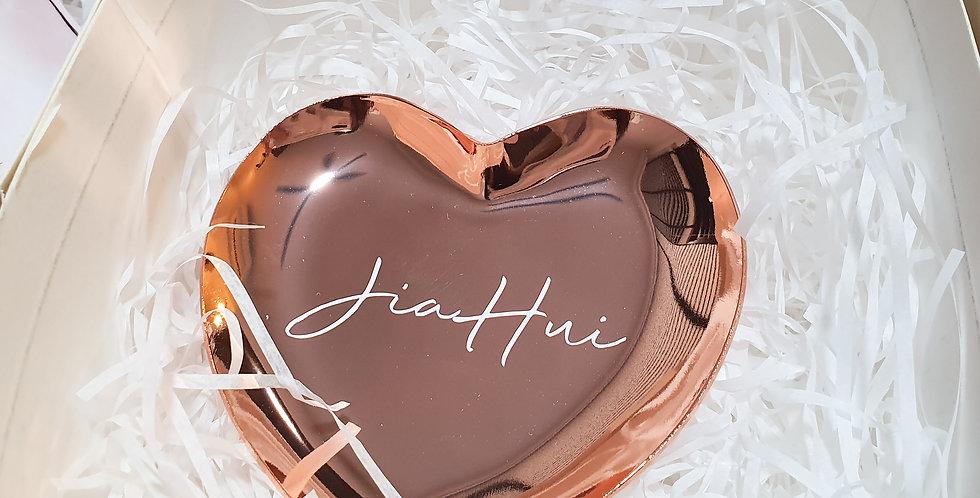 Heart Tray | Rose Gold | GL409B