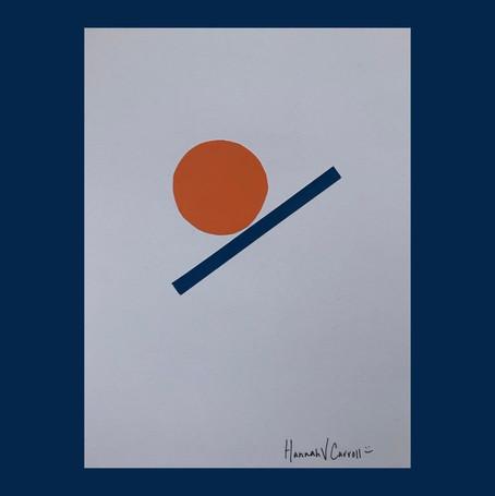 Orange and Blue Line