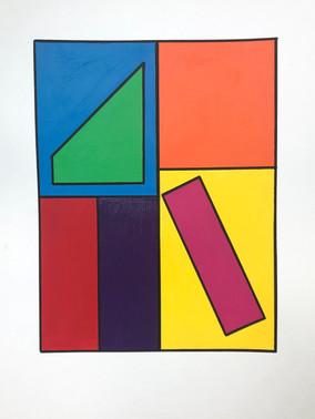 Coloured Block Series