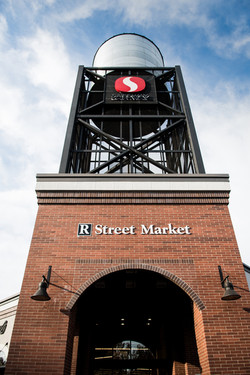 R Street Market Water Tower
