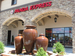 Panda Express with water feature