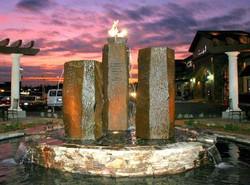 Veterans Memorial Fountain