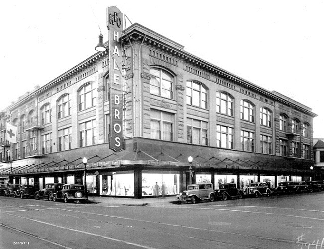 1948 Hale Bros Department Store