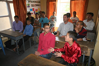 Class for the Male Students at the Center for the Deaf
