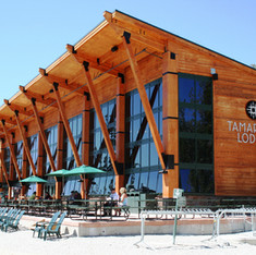 Ski Resort Lodge