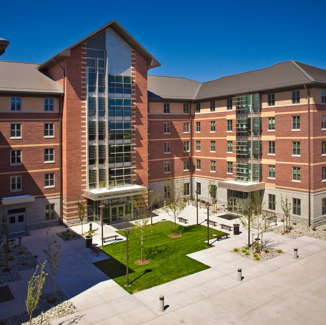 University Residential and Learning Building