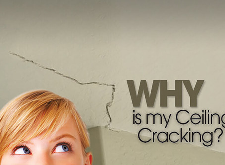 Cracks in the Sheetrock at Your Residence? When Should You Be Concerned?
