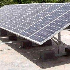 Retail Solar Panel Installation on Existing Historic Building
