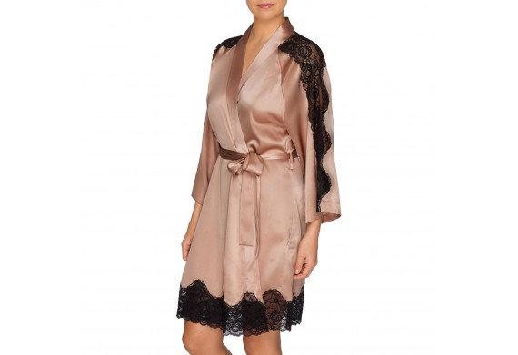 Prima Donna By Night Silk Robe