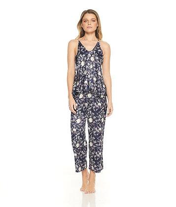 Gingerlilly Satin Pajama Set