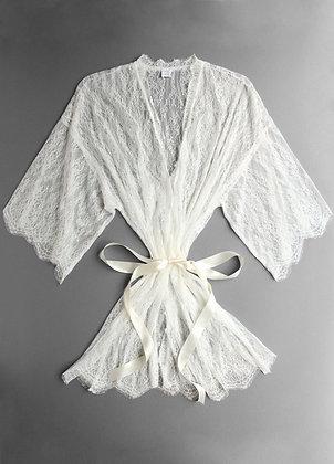Hanky Panky Lace & Silk Robe