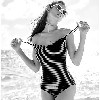 Swimsuit-Perfect-Suit-Padded-stripes-Ros