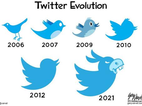 Evolución de Twitter hasta hoy en día.