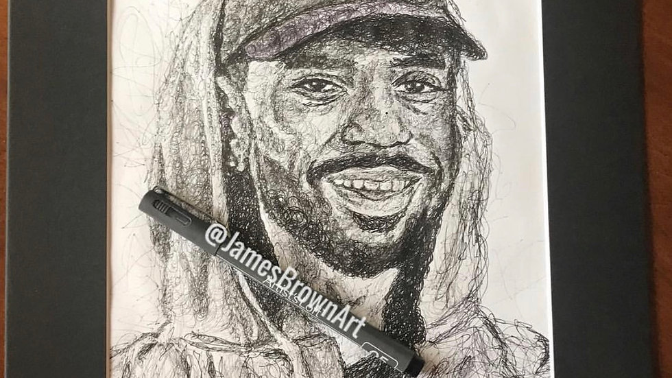 big sean drawing print