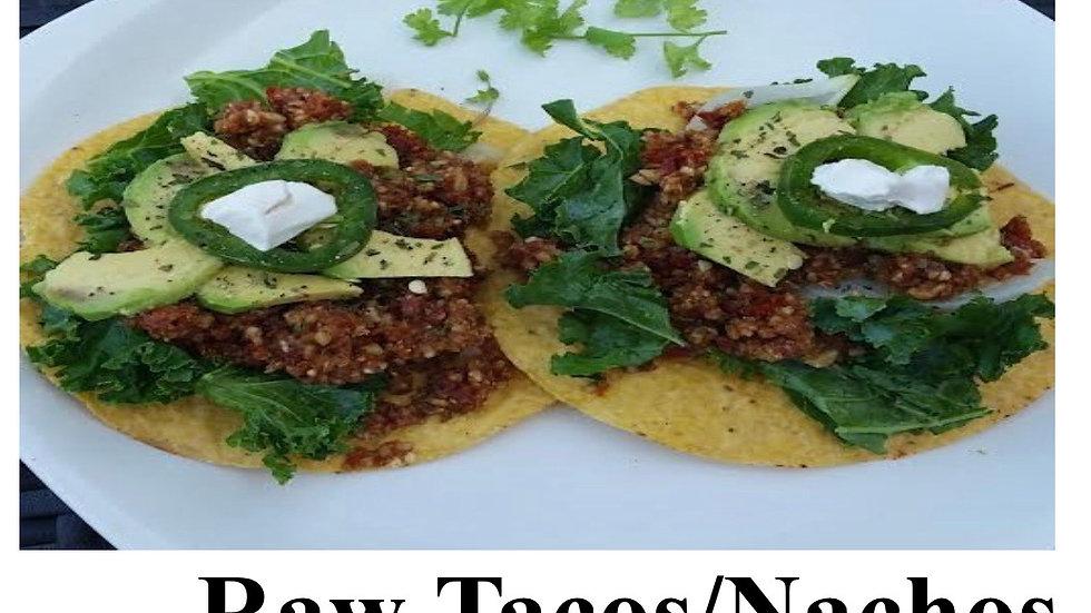 🌮raw tacos
