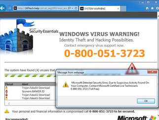 "Another Prevalent Scam- ""Microsoft"""