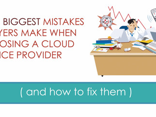 5 Mistakes Lawyers Make When Choosing a Cloud Service Provider (and how to fix them)
