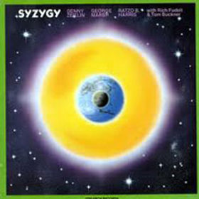 More early fusion (1977) featuring Denny Zeitlin keyboards, Ratzo Harris bass, Rich Fudoli reeds, Tom Buckner vocals, and myself on drums.