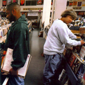 The first studio album by DJ Shadow, it's built entirely from samples of other audio. It's cited in the Guinness World Records as the first album created completely from sampled sources.