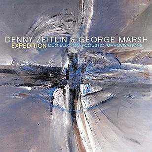 Longtime collaborators Denny Zeitlin and George Marsh continue their journey in sound and spontaneous composition in Expedition.