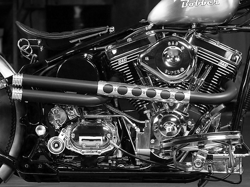 Short Shots - Hi N Tight Sportster Pipes
