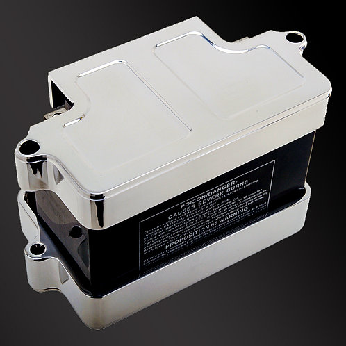 Battery Tray - Black or Chrome