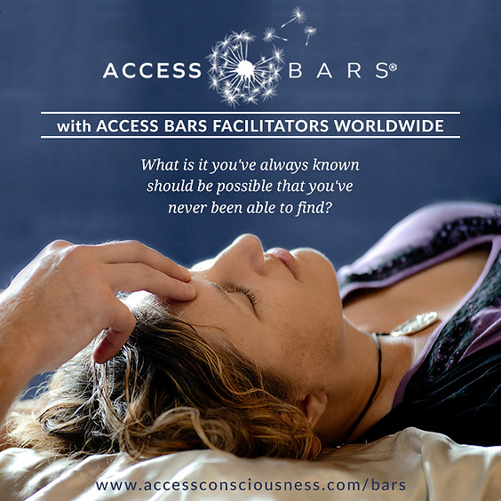 11/9 Access Bars Practitioner Class