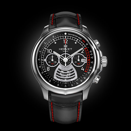 FASTBACK V8-44 CHRONOGRAPHE Black