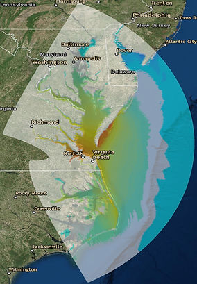 storm surge estimates