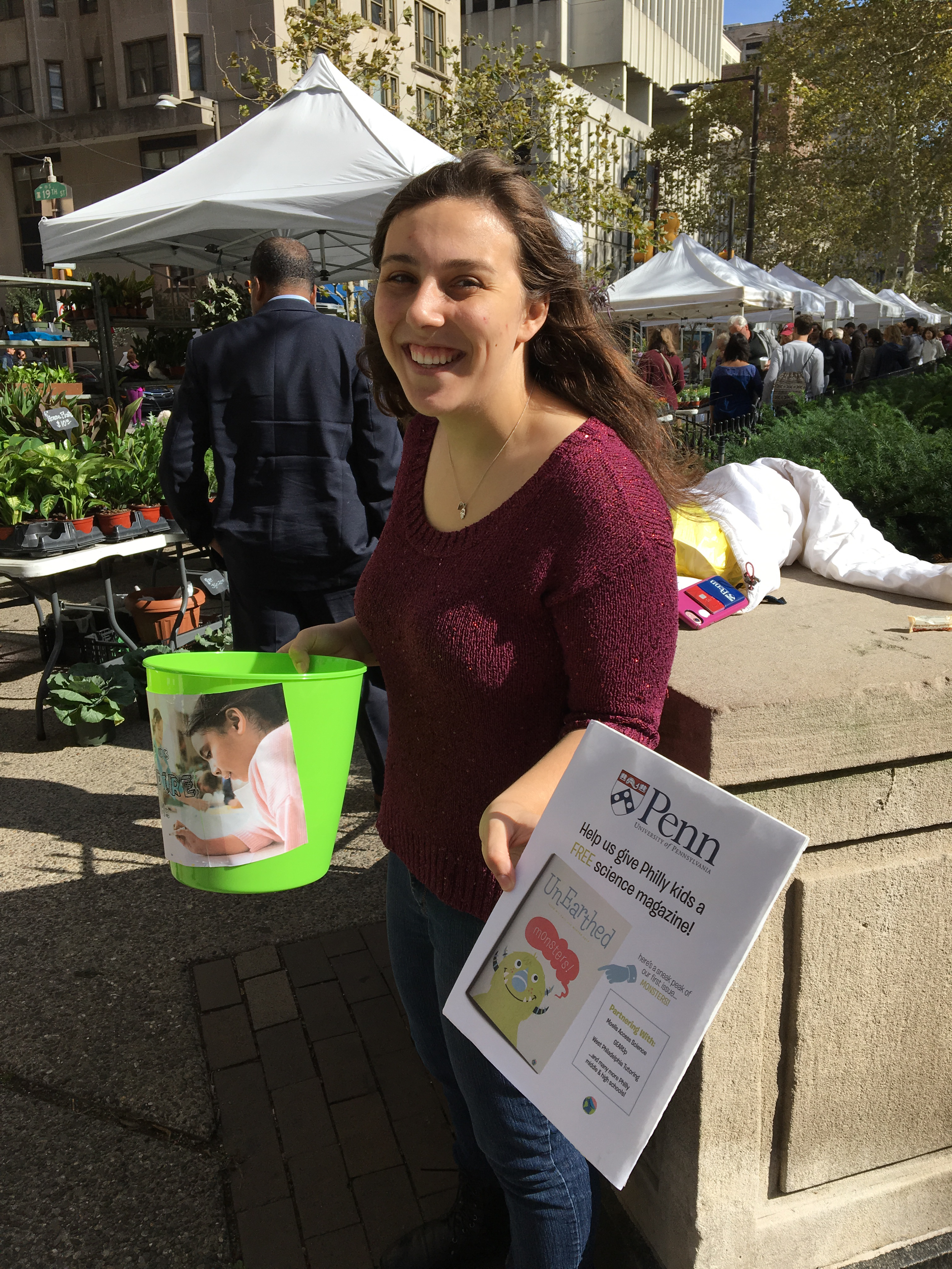 Fundraising at Rittenhouse Square