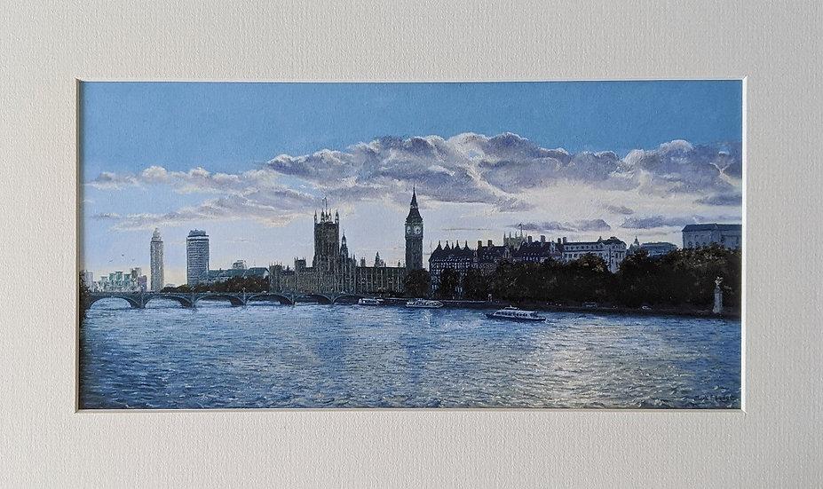 Westminster Sunset from Hungerford Bridge